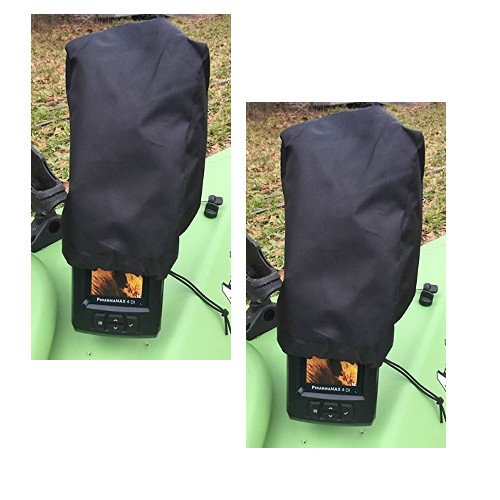 2-Pack Fishfinder, Depth Finder Poly Sun Cover for 3″ – 4″ Models Protects Your Screen From Sun Damage (New Larger Size) Review