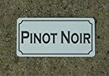 concession menu - Pinot Noir Wine Metal Sign for Food & Beverage Truck Concession Trailer Menu