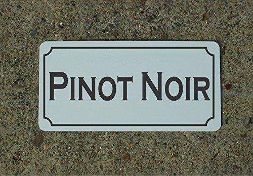 Pinot Noir Wine Metal Sign for Food & Beverage Truck Concession Trailer Menu