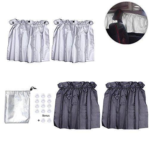 DYYLIA Car Curtains - Foldable Rear Side Window
