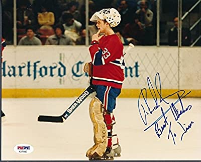 Patrick Roy Canadiens Signed 8x10 Photo Signed Auto - PSA/DNA Certified Ad71187