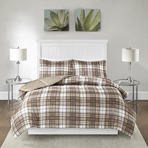 Madison Park Parkston 3M Scotchgard Down Alternative Comforter Mini Set Tan Twin/Twin XL