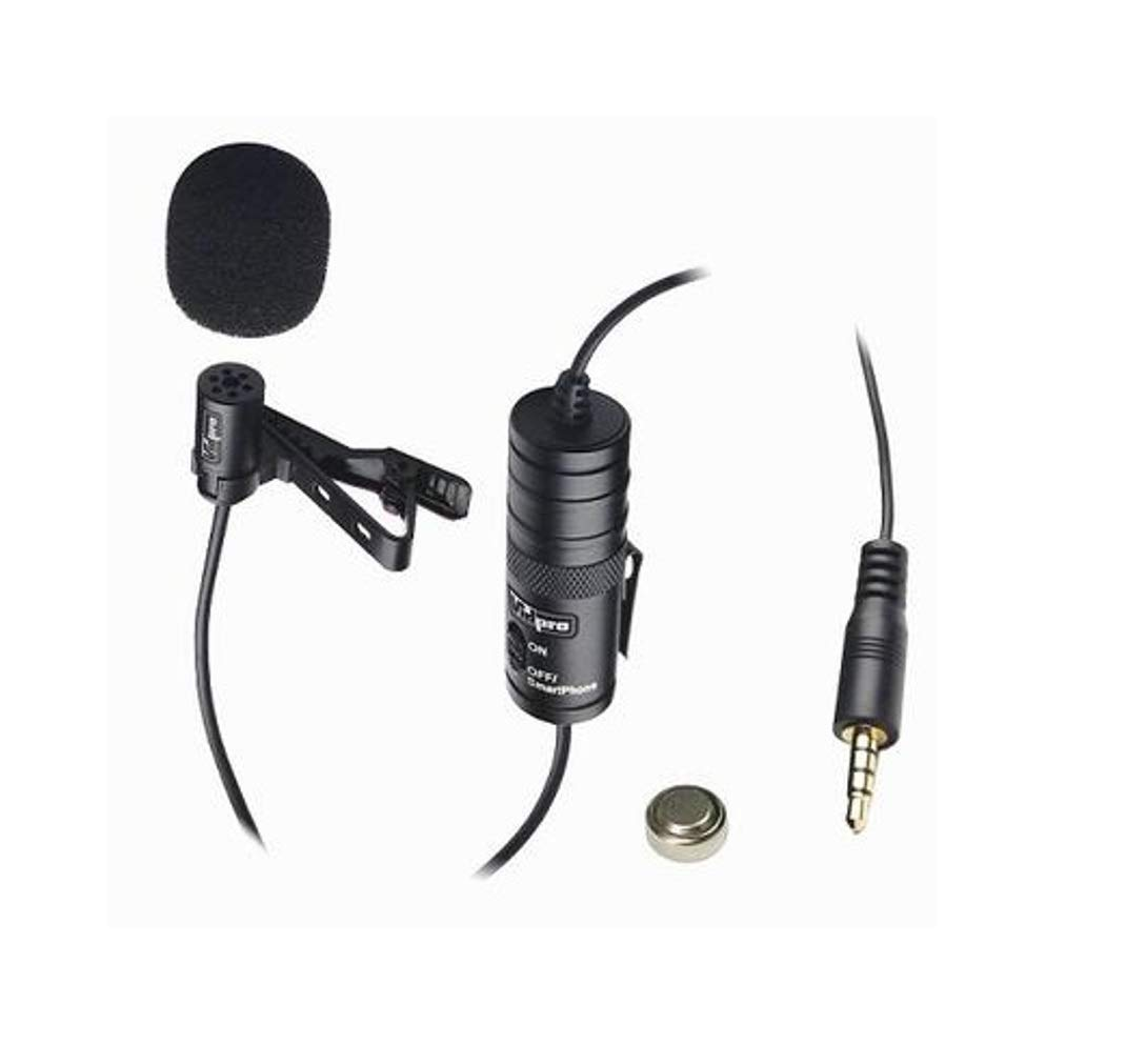 VidPro XM-L Professional Lavalier Condenser Microphone Edma Marketing Ltd