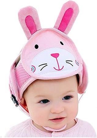 para beb/és y ni/ños gatear para caminar Casco de seguridad para ni/ños y beb/és con protecci/ón para la cabeza casco de seguridad ajustable