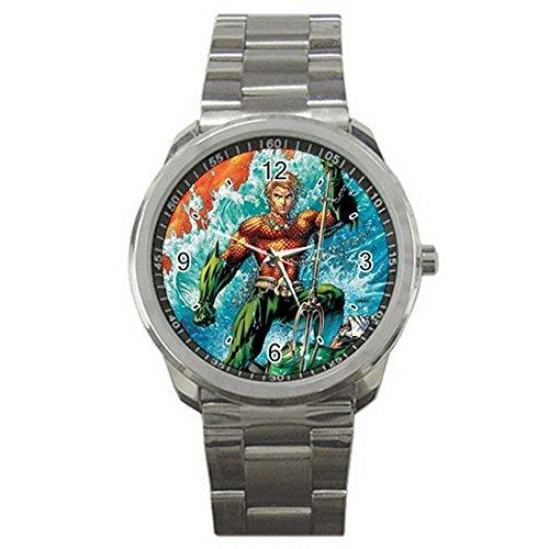 DC+Comics+Watch Products : Aquaman DC Comics Sport Metal watch Limited Edition#2