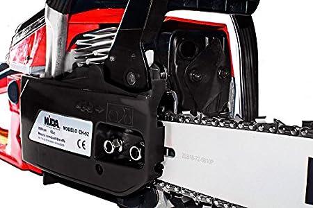 Motosierra de gasolina KUDA de 52cc espada 50 cm 3 cv