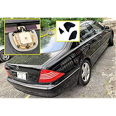 Reinforced Roof GPS Radio Antenna Cover For 00-06 Mercedes W220 S430 S500 S55 AMG S600 2000 2001 2002 2003 2004 2005 2006: Automotive