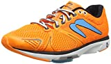 Newton Running Men's Distance V Orange/Blue Sneaker (9.5)