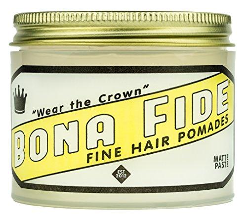 Bona Fide Pomade, Matte Paste 4 oz. (The Best Pomade For Thick Hair)