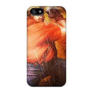 Tpu Phone Case With Fashionable Look For Iphone 5/5s - Bob In Tekken