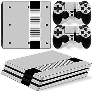 Skins4u® - Vinilos protectores de varios diseños para Sony PlayStation 4 PRO, con 2 adhesivos para los mandos de la PS4., RETRO SNES Classic: Amazon.es: Deportes y aire libre