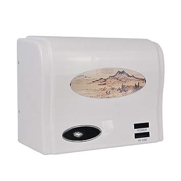 HDLWIS Secadores de Manos, baño de Pared-montado eléctrico automático de la Mano de