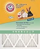 12x12x1, Arm & Hammer Air Filter, MERV 7, by Protect Plus Industries