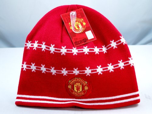 - Manchester United Logo Beanie - 001