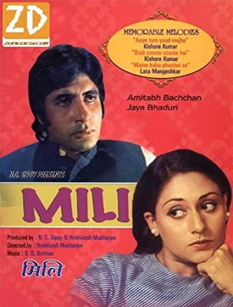 Amazon.com: Mili (1975) (Hindi Film / Bollywood Movie / Indian ...