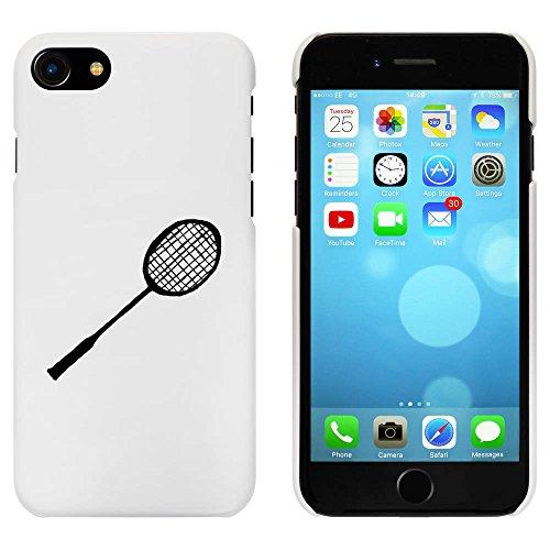 Blanc 'Raquette de Badminton' étui / housse pour iPhone 7 (MC00068308)