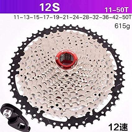 Amazon com: 12S Speed Cassette 11-50T Wide Ratio Freewheel
