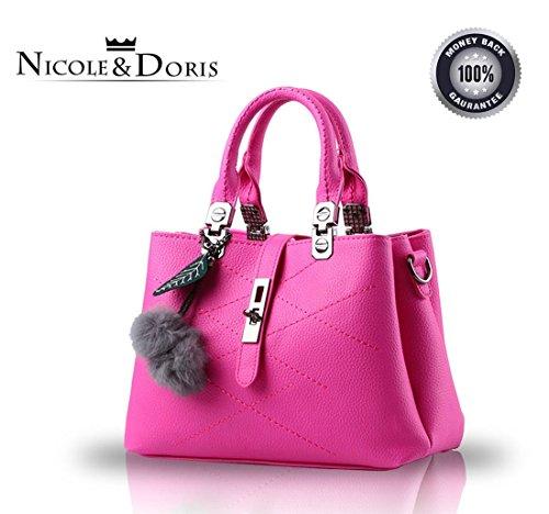 aaf62f4b76 NICOLE DORIS Women hand bags ladies handbag shoulder bag handbags ...