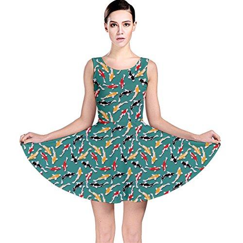 fish pattern dress - 9