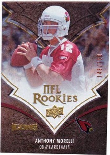 2008 Upper Deck Icons #186 Anthony Morelli NM-MT RC Rookie /750 Cardinals