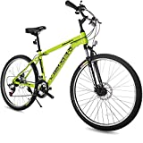 "Merax 26"" Dual Disc Brakes 21 Speed Hardtail Mountain Bike"