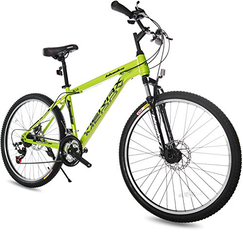 Merax Dual Disc Brakes 21 Speed Hardtail Mountain Bike 26-inch