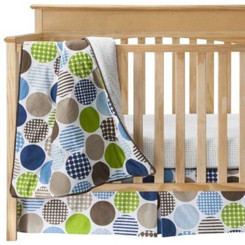 Room 365 Baby Crib Bedding Set 3 Piece ~ Dot Fun Polka Dots [並行輸入品]   B07J4T8XX8