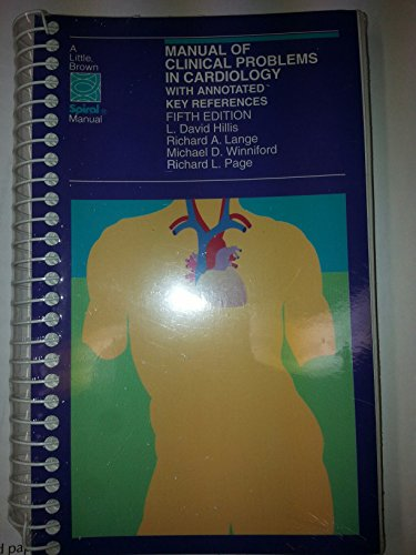 Manual of Clinical Problems in Cardiology