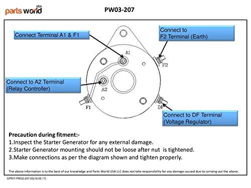 Amazon.com: 15404 Starter Generator for Club Car Golf Cart DS Series ...