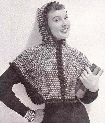 Knit Short Hooded Jacket Knitting Pattern Hoodie Sweater