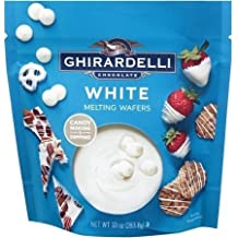 Ghirardelli, Candy Making & Dipping, White Melting Wafers, 10oz Bag (2 Pack)