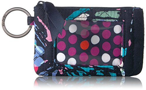 Vera Bradley Iconic Zip ID Case, Signature Cotton, Butterfly Flutter by Vera Bradley