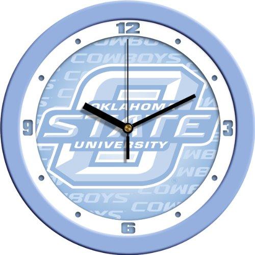 SunTime NCAA Oklahoma State Cowboys Wall Clock - Baby Blue