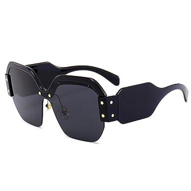 New Square lunettes de soleil femmes marque designer 2018 surdimensionné Vintage  femmes lunettes de soleil mode 1abb1036557d