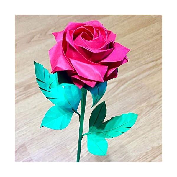 origami-pentagon-rose-paper-flower-gift-bouquet