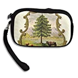 Vermont State Coat Of Arms Deluxe Printing Small Purse Portable Receiving Bag