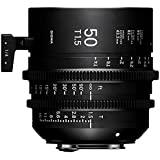 Sigma T1.5 Cine 50mm Full Frame High Speed Prime Lens with Canon EF Mount, 1 Close Focus Distance