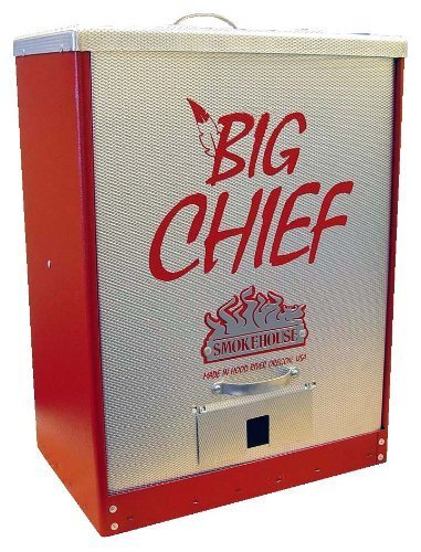 Smokehouse Big Chief Front-load Smoker, RED by (Front Load Smoker)