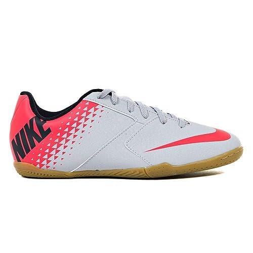 Nike Jr Bomba IC, Zapatillas de fútbol Sala Unisex niño, (Wolf Grey/