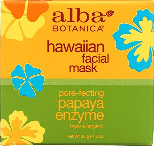 Alba Botanica (1 Item ONLY) Hawaiian Facial Mask Papaya Enzyme