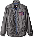 G-III Sports NFL New York Giants The Executive Full Zip Jacket, Small, Charcoal Gray