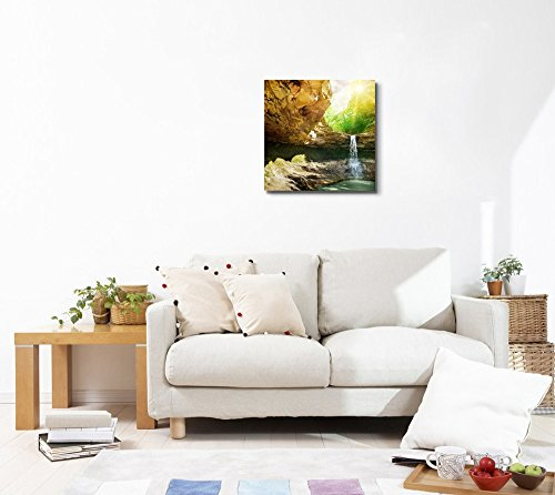 Waterfall in The Mountain Home Deoration Wall Decor ing