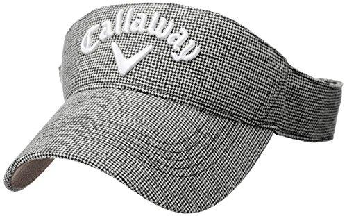 (キャロウェイ アパレル) Callaway Apparel [ メンズ] 定番 ロゴ入り サンバイザー (クールマックス 採用) / 247-8990602 / 帽子 ゴルフ
