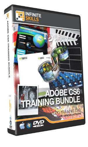 Discounted - Adobe CS6 Training Bundle - 100+ Hours of Video (Indesign Training)