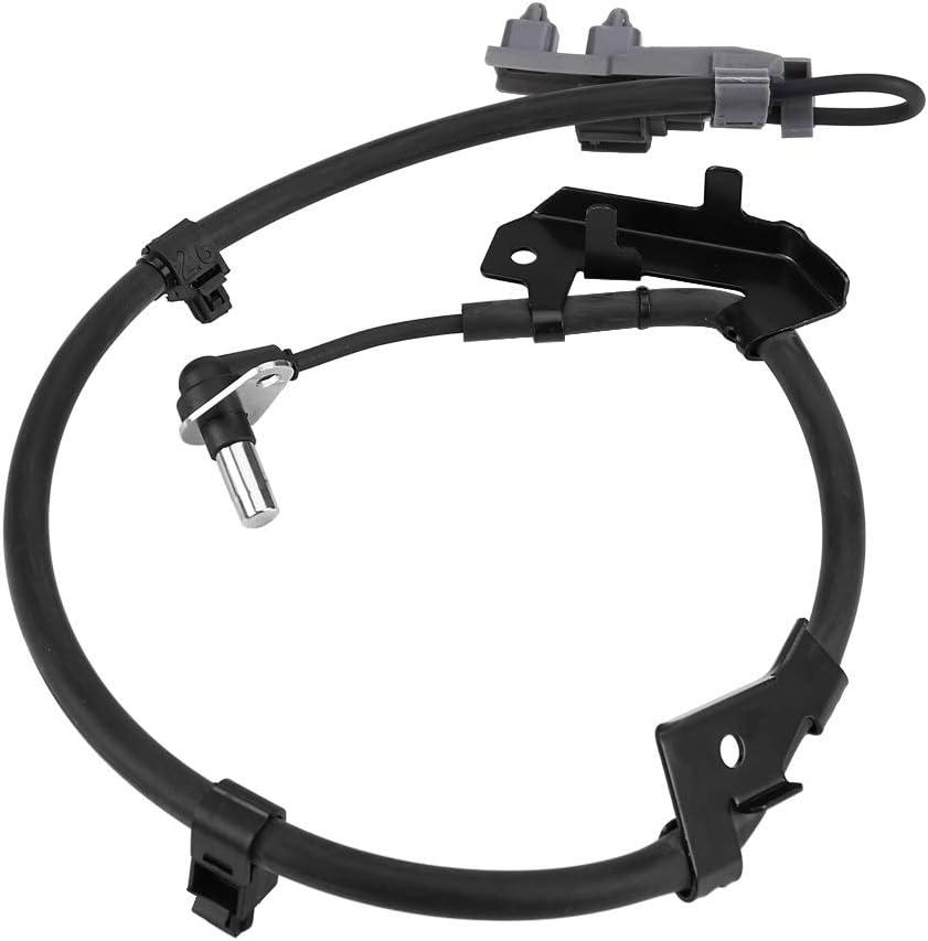 BiuZi ABS Anti-Skid-Sensor 1Pc Schwarz 897387990 ABS Sensor Aus Kunststoff Vorne Links ABS Anti-Blockier-System Sensor Kompatibel Mit Isuzu D-Max//Rodeo TFS77 TFS86 TFS85 2003+