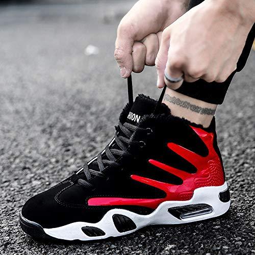 Deportivo Libre Casual Deporte Bottom Rojo Hombres Al Jiameng Basketball Soft Atlético Para Lace Zapatos Calzado Zapatillas Up Hombre De Algodón Aire Moda xFqCnwRO7n
