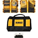 Dewalt Drill and Drive Magnetic Bit Gift Set with Contractor Bag (80 Pieces)