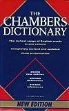 Chambers Dictionary, Catherine Schwartz, 0550102566