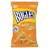 Bugles Nacho Cheese Corn Snacks, 213 Gram (Pack of 4)