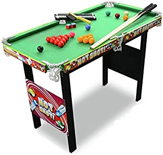 Chad Valley 3 m Queue de billard/snooker Table Jeu. Snooker/Pool Game Table.